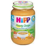 HIPP Био бебешка зеленчукова супа с пуйка 4м+ 190 гр.